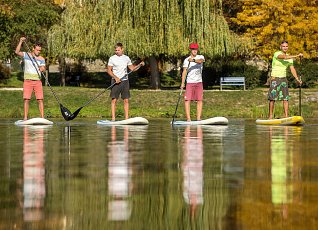 The secret to the trend of paddleboards