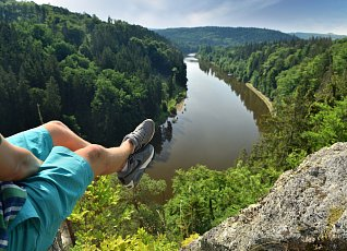 Just sit over the Vltava - Baba viewpoint