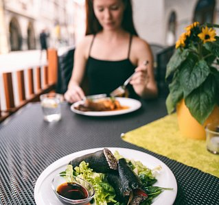 5 TOP restaurants in Budweis where you can eat vegetarian