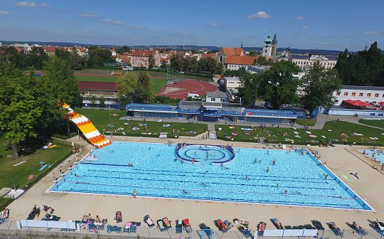 A swimming pool Czech Budweis